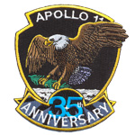 Patches Apollo 35 anniversary