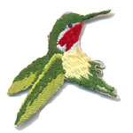 Patches colibri
